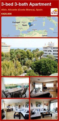 3-bed 3-bath Apartment in Albir, Alicante (Costa Blanca), Spain ►€420,000 #PropertyForSaleInSpain