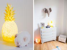 Veuilleuse lumière ananas