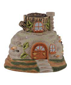 Love this Rock Fairy House by Grasslands Road on #zulily! #zulilyfinds