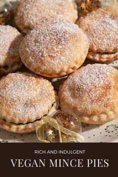 A simple recipe for rich and indulgent vegan mincemeat, perfect wrapped in crisp shortcrust pastry for delicious vegan mince pies. Vegan Mince Pies, Mince Meat, Mincemeat Recipe, Shortcrust Pastry, Vegan Christmas, Bbq Party, Crisp, Deserts, Easy Meals