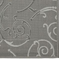 @Overstock - Add elegance and beauty to any floor with this fantastic, gray area rug. The swirling, vine-like geometric patterns in shades of gray are perfect to complement any floor whether indoors or out, giving you stylish softness underfoot.http://www.overstock.com/Home-Garden/Dark-Grey-Light-Grey-Indoor-Outdoor-Rug-8-x-112/6481903/product.html?CID=214117 $209.99