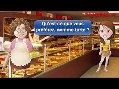 À La Boulangerie Pâtisserie - Apprendre Francais en Contexte - YouTube