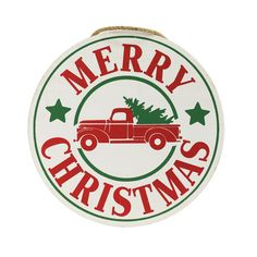 Buy the Large Round Christmas Wall Sign By Ashland® at Michaels.com. Bring joy and festive cheer to your home with this adorable holiday wall sign by Ashland.