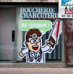 Street Art / Monsieur Poulet « LA MAISON WERTN / wertn.com