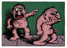 The Nerds by Robert Crumb (underground comics)