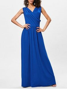 GET $50 NOW   Join RoseGal: Get YOUR $50 NOW!https://www.rosegal.com/maxi-dresses/surplice-neck-pleated-maxi-dress-2183961.html?seid=4695937rg2183961