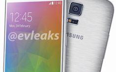 Samsung Galaxy F si mostra in tutta sua bellezza #samsung #smartphone #s5 #galaxyf