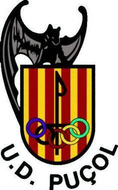 U.D. Puçol Club, Sports Logo, Team Logo, Football, Spain, World, Souvenirs, Soccer, Futbol