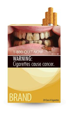 U.S. Food and Drug Administration Announces New Cigarette Packaging Requirements - The Dieline -