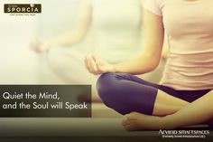 When you find peace and serenity at your home, good health follows. That's why we aim to build better life by providing homes with spaces to meditate so you can lead a healthier lifestyle.  Arvind Sporcia offers 2 / 3 BHK spacious apartments behind Manyata Tech Park at Hebbal, Bengaluru.  Know more about - http://www.arvindsmartspaces.com/about_sporcia.php  #ArvindSmartSpaces #PremiumApartmentsBangalore #RealEstateBangalore