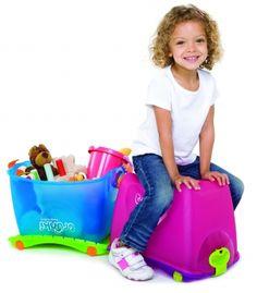 TRUNKI Toybox travel Spielzeugbox - toys, baby items, gifts
