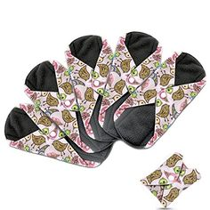 Best price on Dutchess Cloth Menstrual Pads - Bamboo Reusable Sanitary Napkins - Perfect for HEAVY Flow or OVERNIGHT - 5 Pack Set - With Double Layered Charcoal Absorbency Layer to Avoid Leaks, Odors and ...  See details here: http://healthstylemart.com/product/dutchess-cloth-menstrual-pads-bamboo-reusable-sanitary-napkins-perfect-for-heavy-flow-or-overnight-5-pack-set-with-double-layered-charcoal-absorbency-layer-to-avoid-leaks-odors-and/    Truly the best deal for the brand new Dutchess…