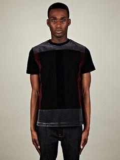 Christopher Kane Flock Panel T-Shirt