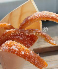 Scorzette di Arancia Candite | Come riutilizzare le bucce di arancia blog il mio saper fare