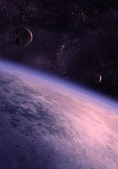 #Art #Space #Planets #Moon #Stars