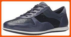 Ecco Footwear Womens Touch Tie Fashion Sneaker, Marine/Marine, 35 EU/4-4.5 M US - Our favorite sneakers (*Amazon Partner-Link)