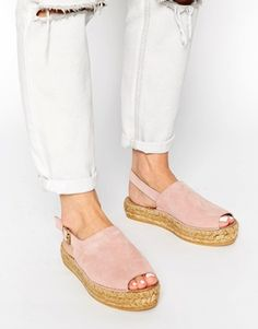 df8601874877cf Park Lane Suede Flatform Espadrille Sandals Espadrille Sandals