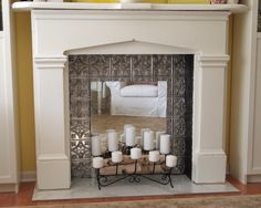Which of the Fake Fireplace Logs is better for you? : Fake Fireplace Logs With Lights. Fake fireplace logs with lights. Faux Fireplace Mantels, Fireplace Logs, Fireplace Mirror, Marble Fireplaces, Fireplace Inserts, Fireplace Surrounds, Fireplace Design, Fireplace Ideas, Fireplace Remodel