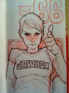 From the sketchbook of Phil Noto