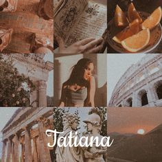 Tatiana // name aesthetic