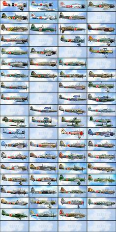 WWII Japan Aircraft!