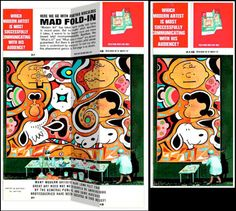 The Mad Magazine fold-in