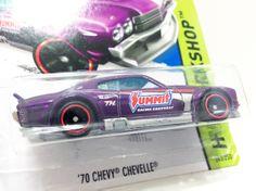 HOT WHEELS 2014 SUPER TREASURE HUNT '70 CHEVY CHEVELLE