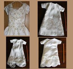 Wedding Dress To Baby Burial Gowns Give