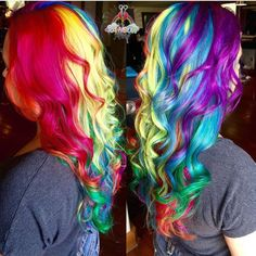 💙❤️@rainbowrage💛💜 is on a color rampage! FOLLOW @rainbowrage @rainbowrage @rainbowrage