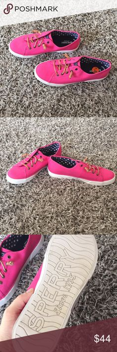 Brand new Pink Sperry top-spider size 9.5 Women's pink brand new Sperry top-spider size 9.5 Sperry Top-Sider Shoes Flats & Loafers