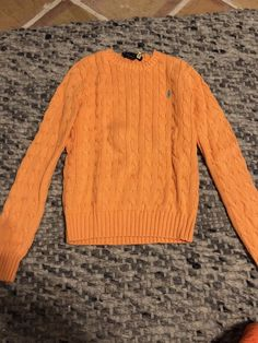 5134afd5f82 Ralph Lauren Womens Sweater Pony Logo Cable Knit Pullover Jumper Xs   fashion  clothing