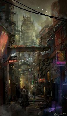 Future Street by Jason Chong