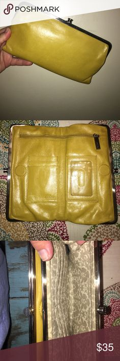 hobo wallet Never used, mustard colored HOBO Bags Wallets