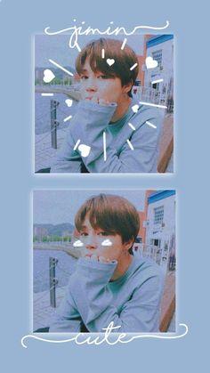 wallpapers btswallpapers bts bangtan blue aesthe w Bts Jimin, Bts Taehyung, Foto Bts, Mochi, Bts Aesthetic Wallpaper For Phone, Park Jimin Cute, Jimin Fanart, Les Bts, Jimin Wallpaper