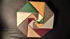 origami hoctagonal box
