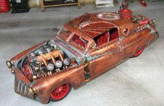 steampunk cars - Google Search
