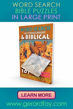 A Bible Word Search Puzzle Book that is perfect for you Word Search Puzzles, Word Puzzles, Wordsearch For Adults, Faith Quotes, Bible Quotes, Puzzle Books, Puzzle Games, Large Print Bible, Optimist Quotes