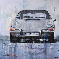 Markus Haub Porsche 911 silver Edition auf Metall (Dibond) ab 25 x 25 cm ab 49,00 € http://www.artfan.de/haub-markus-porsche-911-silver-kunst-kaufen-junge-kunstler.html