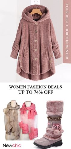 Women winter fashion outfits for work and daily style. Up to 78% off! Shop now! #women #winter #coats #shoes #hats Winter Outfits Women, Winter Fashion Outfits, Winter Coats Women, Fall Fashion, Boho Fashion, Fashion Styles, Fashion Beauty, Women's Boots, Snow Boots