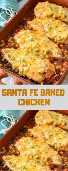 Santa Fe Chicken Recipes is Among the Favorite Chicken Recipes Of Many Persons Round the World. Besides Simple to Create and Good Taste, This Santa Fe Chicken Recipes Also Healthy Indeed. Mexican Dishes, Mexican Food Recipes, Dinner Recipes, Dinner Ideas, Cajun Recipes, Kraft Recipes, Kraft Chicken Recipes, Recipe Chicken, Santa Fe Chicken