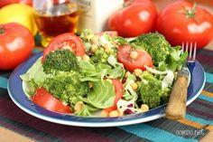 Sałatka przeciwnowotworowa | Zdrowe Przepisy Pauliny Styś Broccoli, Vegetables, Dom, Vegetable Recipes, Veggies
