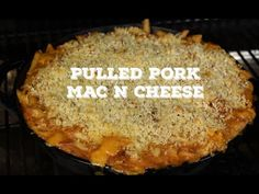 ▶ BBQ Pulled Pork Mac N Cheese | On the Traeger Texas Pro - YouTube