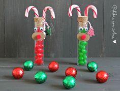 Tubos Rudolf de caramelos