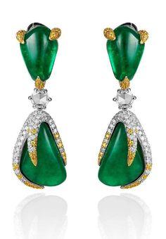 Russian.......emeralds and diamonds