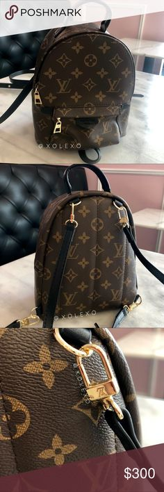 bfedfade812d Luxury Palm Springs Mini Backpack  BRAND NEW WITH TAGS  I receive so many  compliments