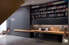 Modernes und stilvolles häusliches Arbeitszimmer Design  - #Wohnideen
