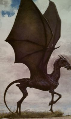 Art of harry potter. Thestral.