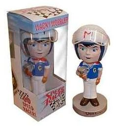 Speed Racer Wacky Wobbler by Funko Retired Nodder http://popvinyl.net #funko #funkopop #popvinyls