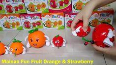 Mainan Anak Berbentuk Buah Buahan Fun Fruit Orange