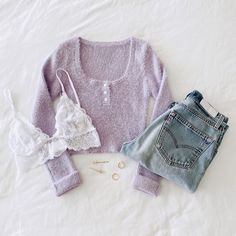 Basic Outfits, Teen Fashion Outfits, Outfits For Teens, Cute Comfy Outfits, Girly Outfits, Trendy Outfits, Fall Winter Outfits, Aesthetic Clothes, Beautiful Outfits